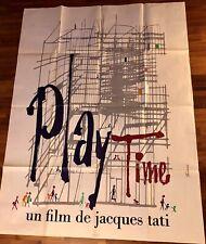 Playtime / Jacques Tati / Affiche / Cinéma / Poster / 120x160
