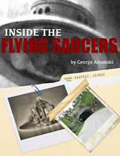 Adamski Mr George-Inside The Flying Saucers BOOK NEUF