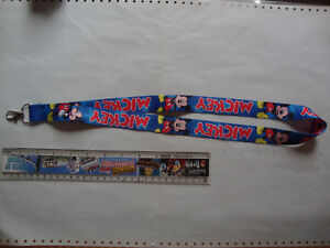 Lanyard Mickey Mouse (E) neck strap for ID security card USB stick keys keyrings