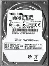 "Toshiba MK3276GSX 320Gb 2.5"" Laptop Internal SATA Hard Drive"