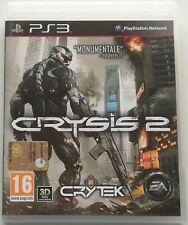 CRYSIS 2 PS3 ITALIANO GIOCO PLAYSTATION 3 COME NUOVO SPED GRATIS SU + ACQUISTI