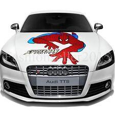 Reflective SPIDERMAN Decal Vinyl Car Stickers Auto Hood Cover Sticker Auto Acces