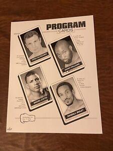 Boxing Program Card, Klitschko/Williams & Cotto/Bailey * 12/11/04, #44/100(NM)