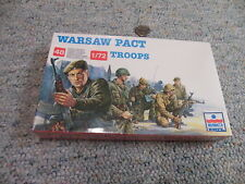 Esci  1/72  Box#242 Warsaw Pact Troops x48 figures red solid  box shrink wrapped
