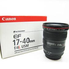 Objetivos automáticos Canon para cámaras, con apertura máxima F/4, 0