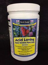 Fertilome Acid Loving Plant Food 8 oz fertilizer 31-11-11 acidic water soluble