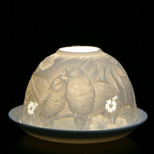Nordic Lights - DOME LIGHT TEALIGHT CANDLE SHADE & TRAY - Parrot Parrots