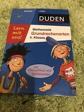 NEU - Mathematik Grundrechenarten Klasse 4 von Duden