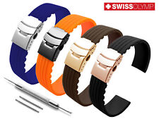 For TISSOT Watch Strap Silicone Rubber Watch Band Bracelet Clasp Buckle 18-24mm