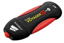 NEW Corsair Voyager GT 256GB USB 3.0 Flash Drive Shock Resistant CMFVYGT3B-256GB