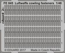 Eduard Zoom FE845 1/48 Luftwaffe cowling fasteners