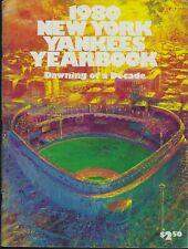 '80 New York Yankees Yearbook Reggie Jackson HOF Guidry Pinella Nettles Randolph