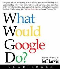 What Would Google Do? by Jeff Jarvis (2009, CD, Unabridged) New Sealed