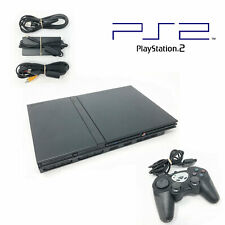 Sony Playstation 2 Ps2 Slim Console Complete