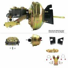 "73-77 3rd Gen Chevy Chevelle FW Mount Power 8"" Dual Brake Booster Kit Disc/Drum"