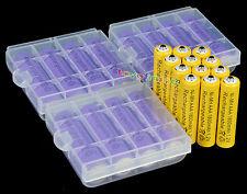 12x AA 3000mah + 12x AAA 1800mAh recargable 1.2v HR6 HR03 Batería M530 caso