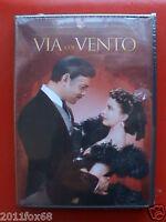 gone with the wind via col vento clark gable box 5 dvd 70°anniversario cofanetti