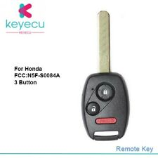 For 2010 2011 2012 2013 2014 Honda Odyssey Replacement Remote Key Fob N5F-S0084A