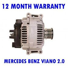 MERCEDES BENZ VIANO 2.0 2.2 2003 2004 2005 2006 2007 - 2015 RMFD ALTERNATOR