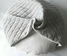 Reversible Quilted Velvet Snuggle Cave bed Dog / Cat pillow