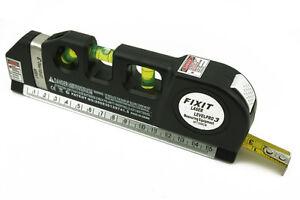 Professional Multipurpose Level Laser Horizon Vertical Measuring Aligner & Ruler