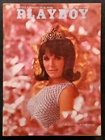Playboy - 1967 August with Centerfold - GREAT condition magazine & Ads
