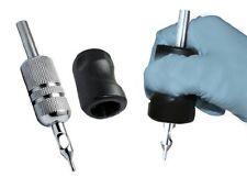 "New 2"" Tattoo Black Silicon Grip Holder Tattoo Supply Parts Accessories"