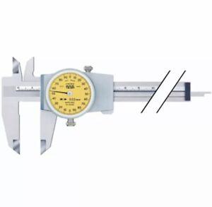 TESA Messschieber mit Rundskale 150 mm 0,01 mm