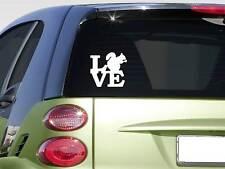 "Squirrel love 6"" Sticker *F192* Decal squirrel hunting treedog dogbox cur scope"