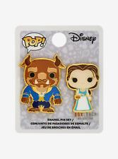 Funko Pop! Disney Beauty And The Beast Belle & Beast Enamel 2 Pin Set