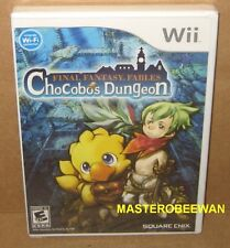 Final Fantasy Fables: Chocobo's Dungeon New Sealed (Nintendo Wii, 2008) & Wii U