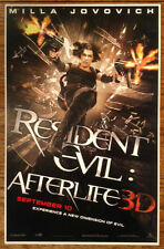 RESIDENT EVIL AFTERLIFE Movie Poster - Horror Medium Size Print ~ Milla Jovovich