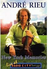 Andre Rieu: New York Memories - Live at Radio City Music Hall (2007, DVD New)