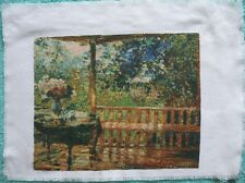 Hand made Embroidery Cross Picture Factory Art Tapestry Fancywork Veranda Porch