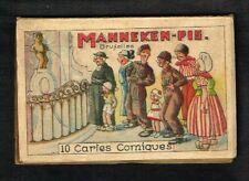 Bruxelles - Manneken-Pis - Ancienne Pochette de 10 CP humoristiques.