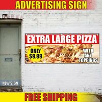24inx60in Vinyl Banner Sign Mozzarella Sticks #1 Style B Outdoor Marketing Advertising Yellow Multiple Sizes Available Set of 3 4 Grommets