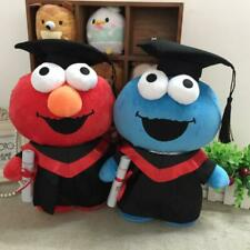 sesame street elmo stuffed plush graduation gift doll dolls toy anime new
