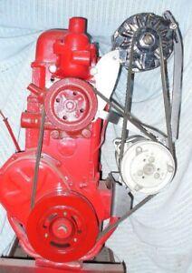 10073 AIR CONDITIONING & ALTERNATOR BRACKETS FOR 1955-59 270 302 GMC 6 CYL
