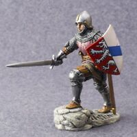 Knight Painted Toy Soldiers Medieval War 1/32 scale 54mm Metal Miniature Figure