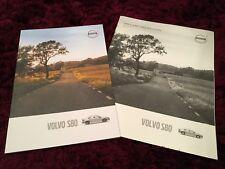 Volvo S80 Brochure 2016 + Price & Specs booklet