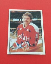 1981/82 O-Pee-Chee Hockey Mike Gartner Sticker #190***Washington Capitals***
