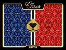 New COPAG 100% Plastic Playing Cards CLASS VANGUARD - New Bridge Jumbo Index