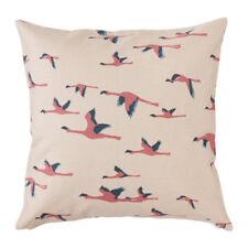 Ikea Majbritt Deko Kissenbezüge 50x50cm Beige Flamingo NEU OVP  403.696.18