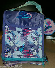 CHEER LEADER MEGA PHONE LUNCH TOTE BAG~NEW~INSULATED~FOOD~TOY~CARRIER