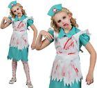 Infantil Disfraz de Halloween Zombie Enfermera Niña NUEVO CON