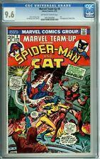 MARVEL TEAM-UP #8 CGC 9.6 SPIDER-MAN THE CAT 1st app MAN-KILLER Marvel 1973