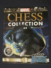 Eaglemoss MARVEL CHESS  COLLECTION #64 DARK BEAST (MAGAZINE ONLY NO CHESS FIG)