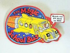Vintage The Magic School Bus Watch Our TV Show On PBS Pin