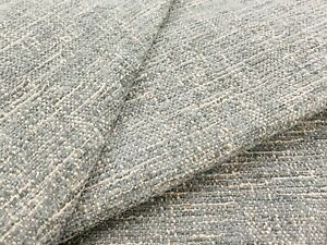 Groundworks Textured Chenille Upholstery Fabric- TINGE MIST 6.75 yd GWF-3720.15
