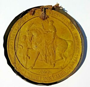 Queen Victoria Great Seal of the Realm Royal Seal